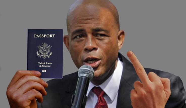 martelly passport?